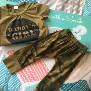 Other - Baby girls military set